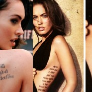 The Most Stylish Celebrity Tattoos